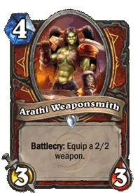 Arathi Weaponsmith