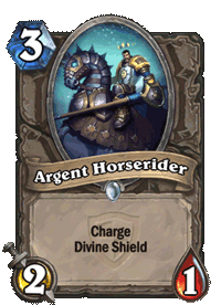 Argent Horserider