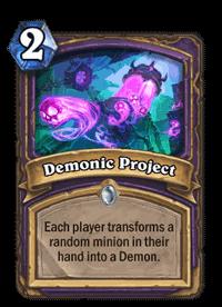 Demonic Project
