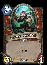 Fierce Monkey
