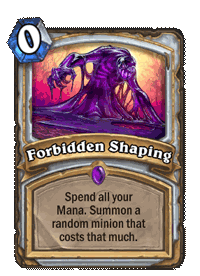 Forbidden Shaping