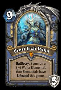 Frost Lich Jaina