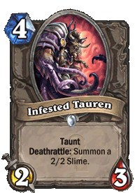 Infested Tauren