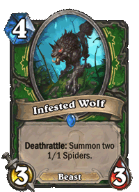 Infested Wolf