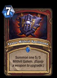 Lesser Mithril Spellstone