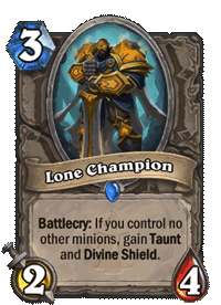 Lone Champion
