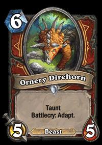Ornery Direhorn