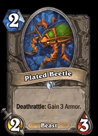 Plated Beetle