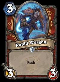 Rabid Worgen