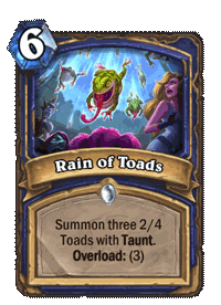 Rain of Toads