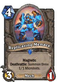 Replicating Menace