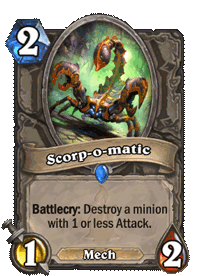 Scorp-o-matic