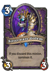 Silverware Golem