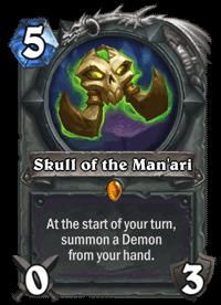 Skull of the Man