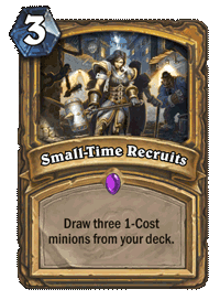 Small-Time Recruits