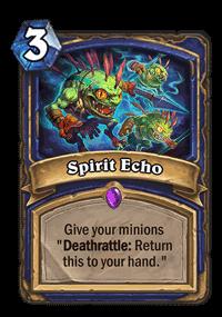 Spirit Echo