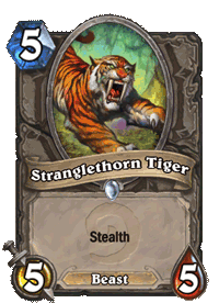Stranglethorn Tiger