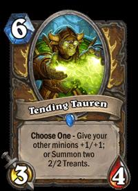 Tending Tauren