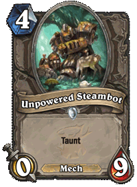 Unpowered Steambot