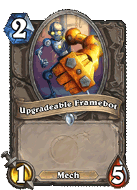 Upgradeable Framebot